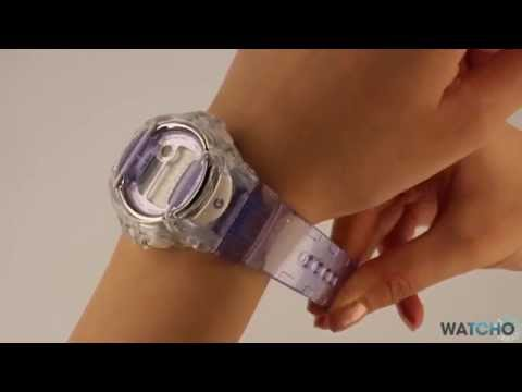 7578173065c8 Casio Baby-G Ladies Digital Watch BG-169R-6ER - A Close Look - YouTube