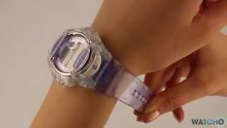 Casio Baby-G Ladies Digital Watch BG-169R-6ER - A Close Look