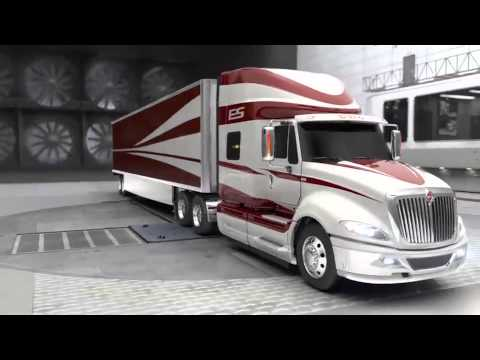 International ProStar ES Aerodynamics Advantages