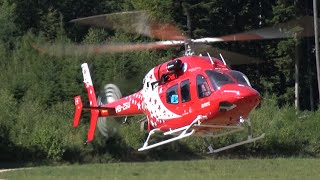 Gigantic Scale Rescue Helicopter Bell 429 Air-Zermatt Turbine Rc Model Hb-Zsu A.L.K 2015 Switzerland