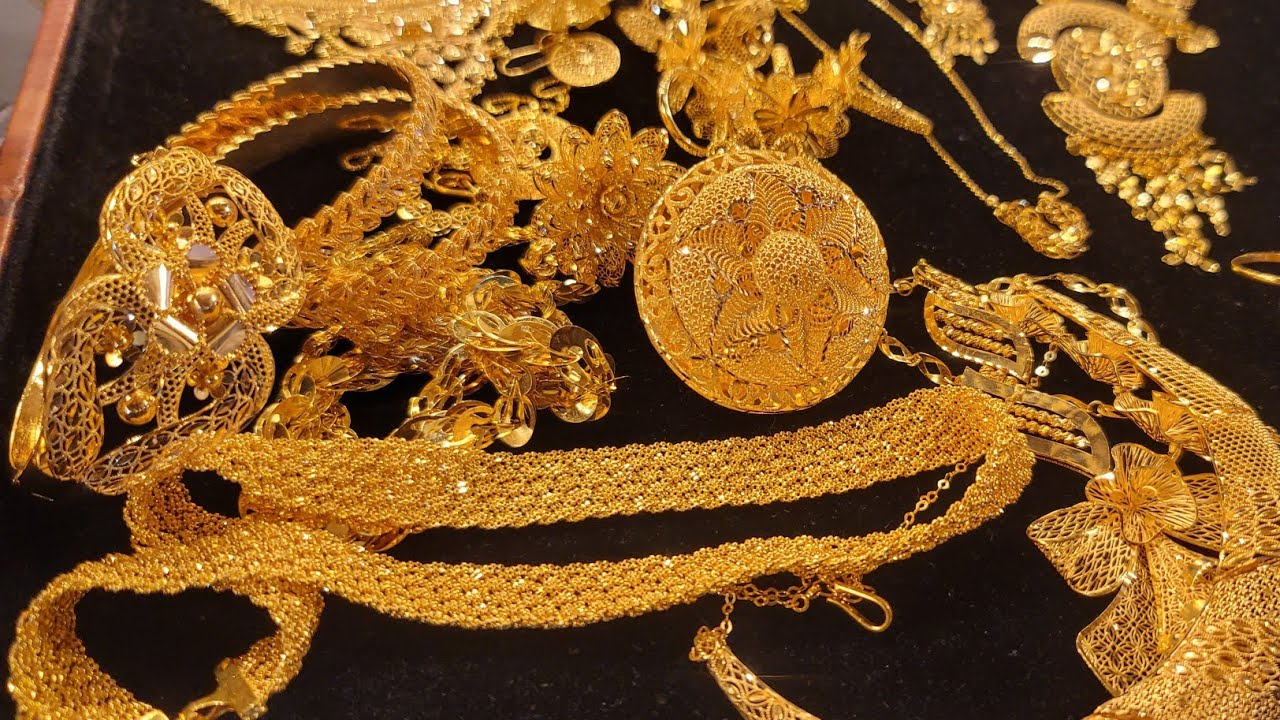 সোনার রাজরানি নেকলেস /gold necklace
