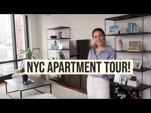 Apartment Tour!   New York Apartment   Model Closet Tour   Emily DiDonato