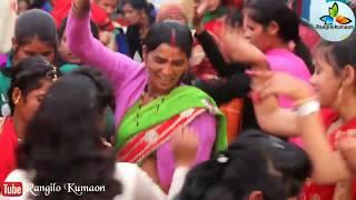 पहाड़ी डी0 जे0 में महिलाओं का बहुत ही जबरदस्त डांस । Pahaadi Dj | Rangilo Kumaon