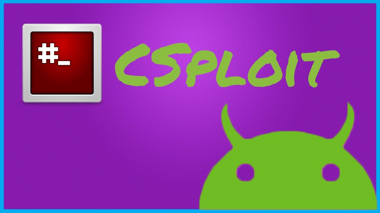 Android cSploit: The new dSploit