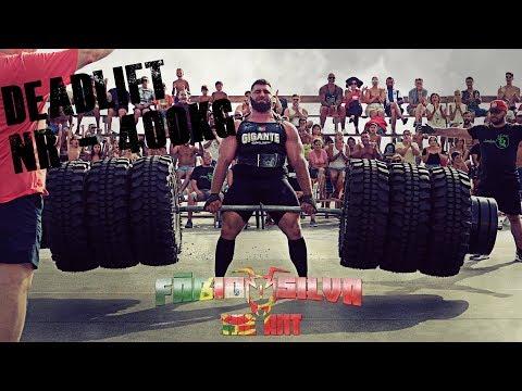 Fábio Silva - Strongman  Portuguese Deadlift Record
