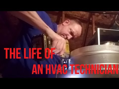 The Life of an HVAC Technician - Episode 7 HVAC Service and Installation