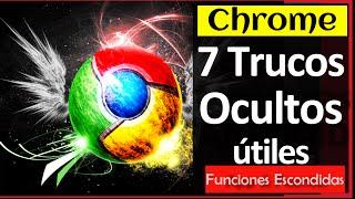 7 Trucos OCULTOS en Google CHROME 2016 (Funciones Super útiles)