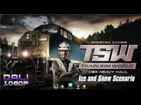 Train Sim World: CSX Heavy Haul - Ice and Snow Scenario 100% Completed