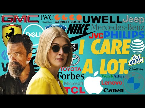 I CARE A LOT product placement top 10 brands
