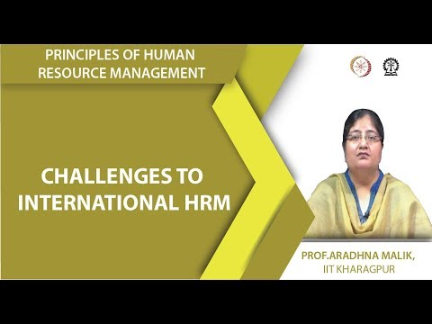 Challenges to International HRM