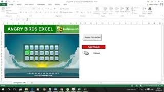 50+ Cool Games to Play on Microsoft Excel #Trick 11