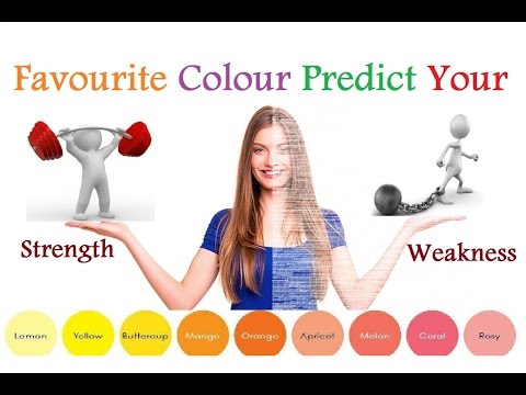 Favourite Colour Predict Your Personality  Strength And Weakness