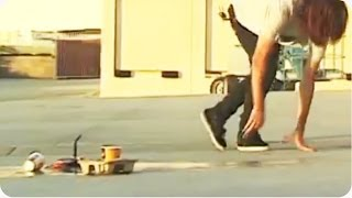 Skateboarder Spills Coffee | Serious Case of the Mondays
