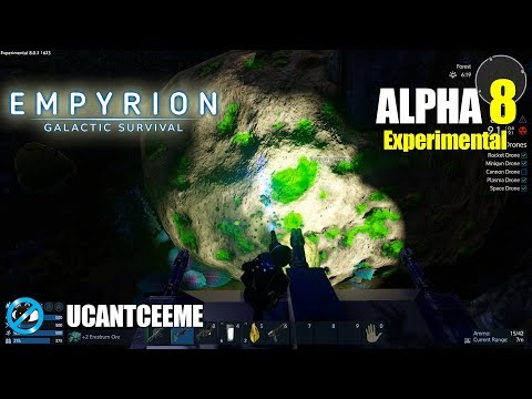 Empyrion Galactic Survival | Alpha 8 Exp | UNBREAKABLE METEORITE | HUGE RADIATION PLANET | Ep. 24