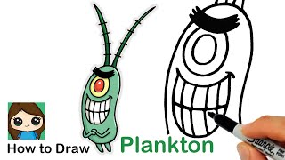 How to Draw Plankton | SpongeBob SquarePants