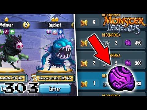 RETO DE 24 HORAS!! MOTHMAN Y ENYPIAST! - Monster Legends #303