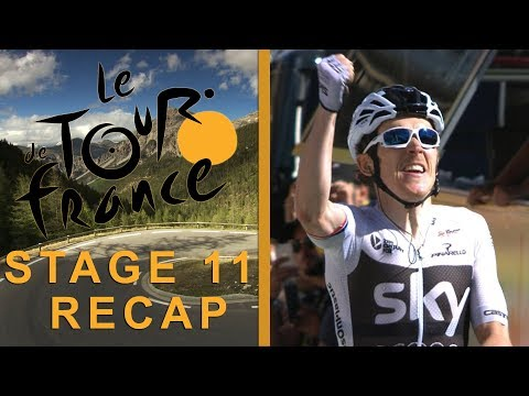 Tour de France 2018: Stage 11 Recap I NBC Sports
