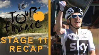 Tour de France 2018: Stage 11 Recap I NBC Sports