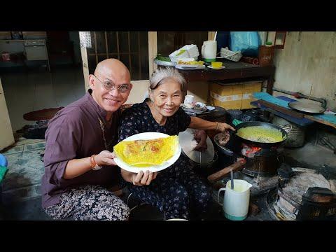 Food For Good #291: Cụ bà cụ ông 80 tuổi vẫn nhất quyết bán bánh xèo để giúp nguời bệnh tật