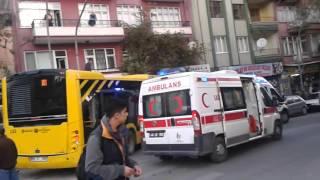 Malatya Otobüs Kazası, Emeksiz Kavşağı Sondakika44.com