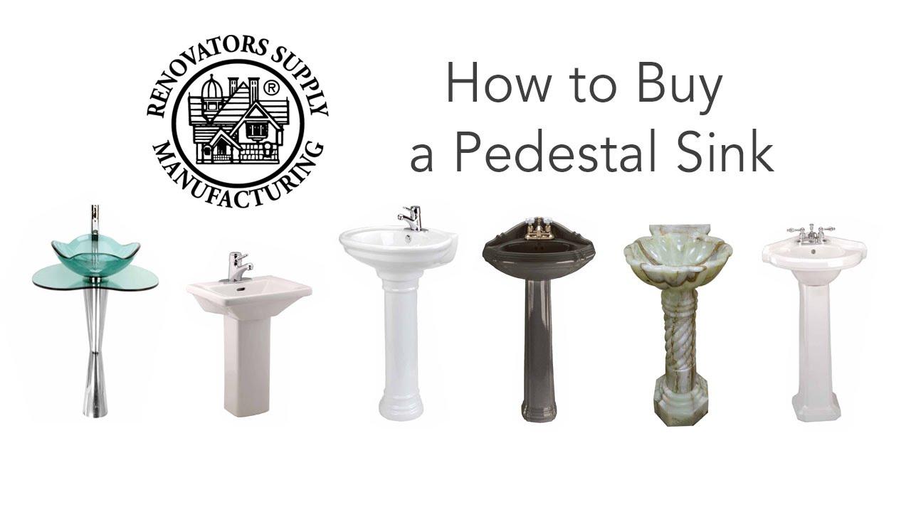 Bathroom Pedestal Sinks How To Buy | Renovatoru0027s Supply