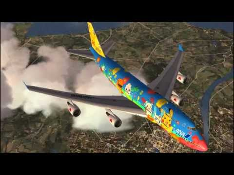 All Nippon Airways Pokemon Jets [FSX HD]