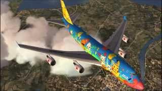 All Nippon Airways Pokemon Jets [FSX HD]