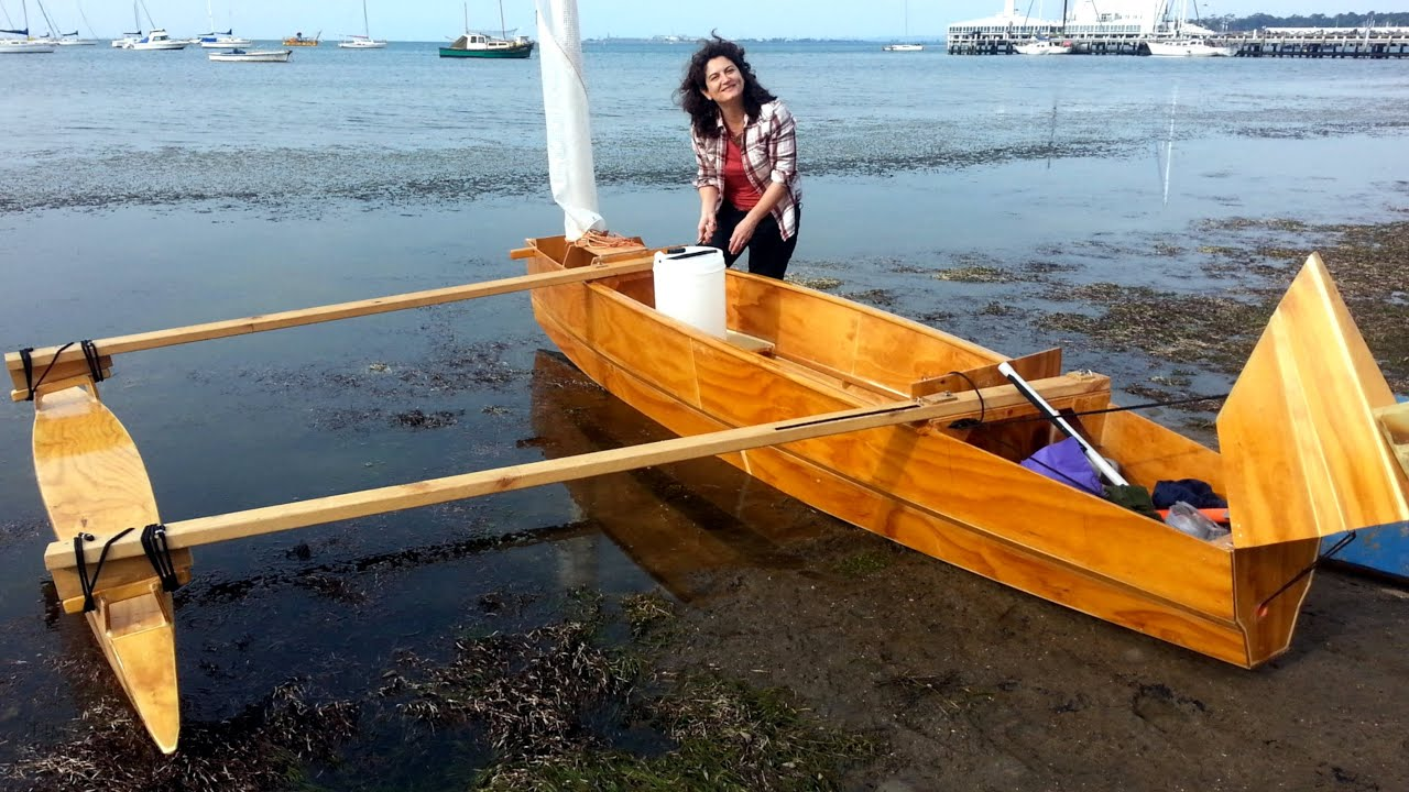 Boat: build your own. Plywood PROA