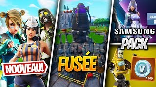 NEW SKINS, Skin Fortnite x Samsung - More on FORTNITE! (Fortnite News)