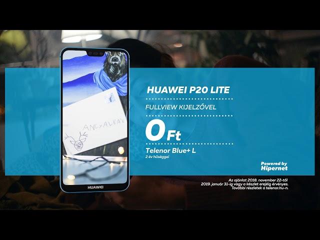 Huawei P20 Lite a Telenortól