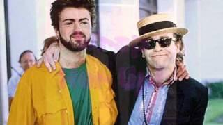 Elton John & George Michael - Wrap Her Up (extended remix) With Lyrics!