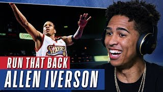 YouTubers React to Allen Iverson's Best Highlights | Run That Back