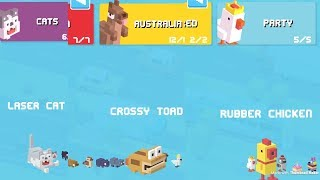 Crossy Road - All 3 New Mystery Box Characters
