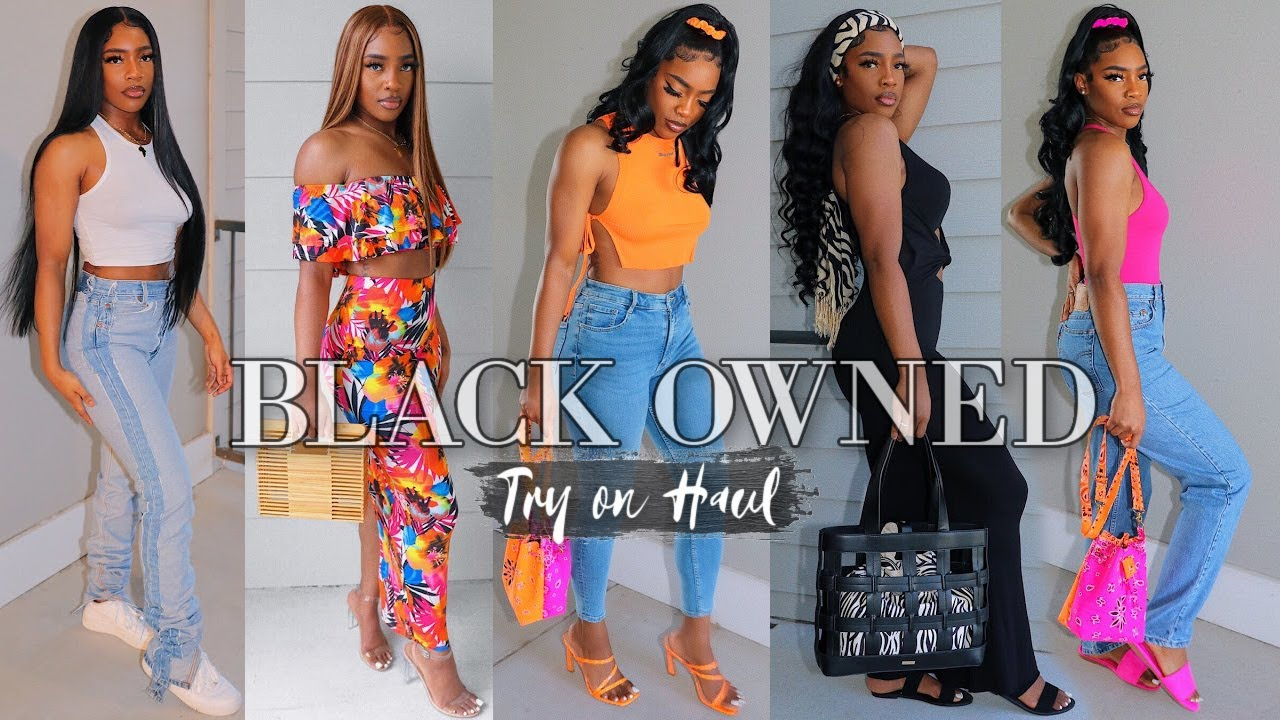 HIGHLY REQUESTED* BLACK OWNED TRY ON HAUL 2020