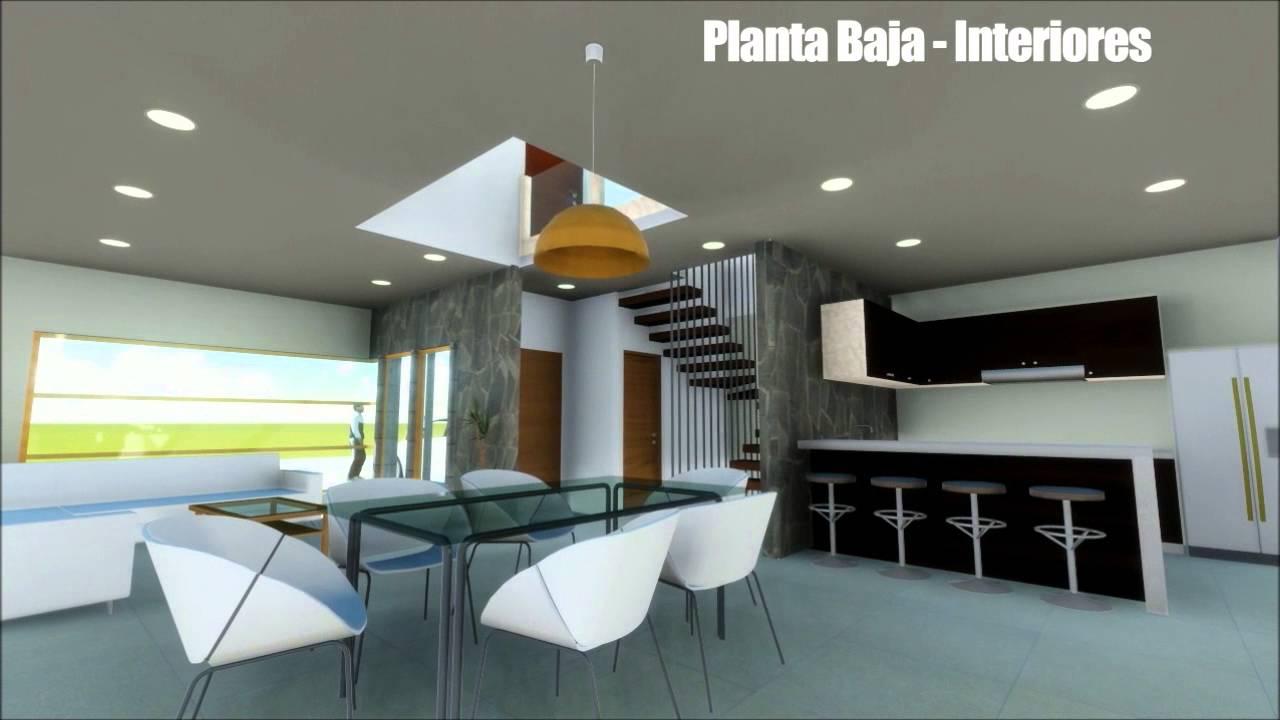 Casa contemporanea 2 niveles recorrido virtual youtube for Raccordo casa contemporanea