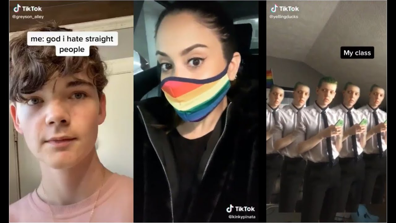 the thiccest LGBTQ+ tiktok compilation (OVER AN HOUR)
