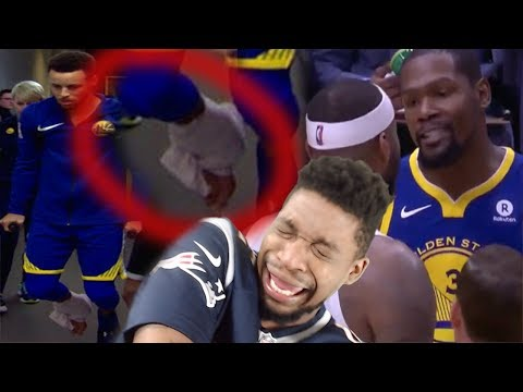 DURANT FIGHTS COUSINS & CURRY LEAVES INJURED!