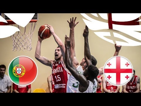 Portugal v Georgia - Full Game - FIBA U20 European Championship Division B 2018