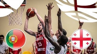 Portugal v Georgia - Full Game - FIBA U20 European Championship Division B 2018