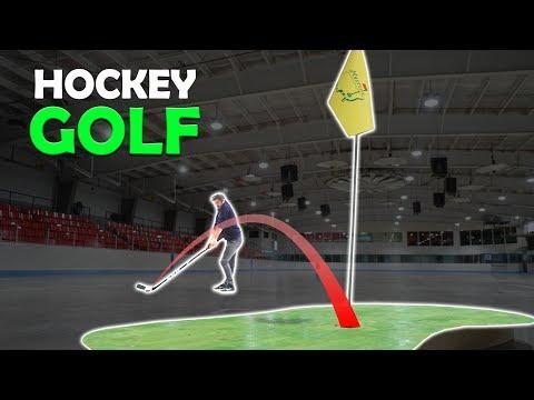 Playing Hockey-Golf On The Masters Week | SweetSpotSquad