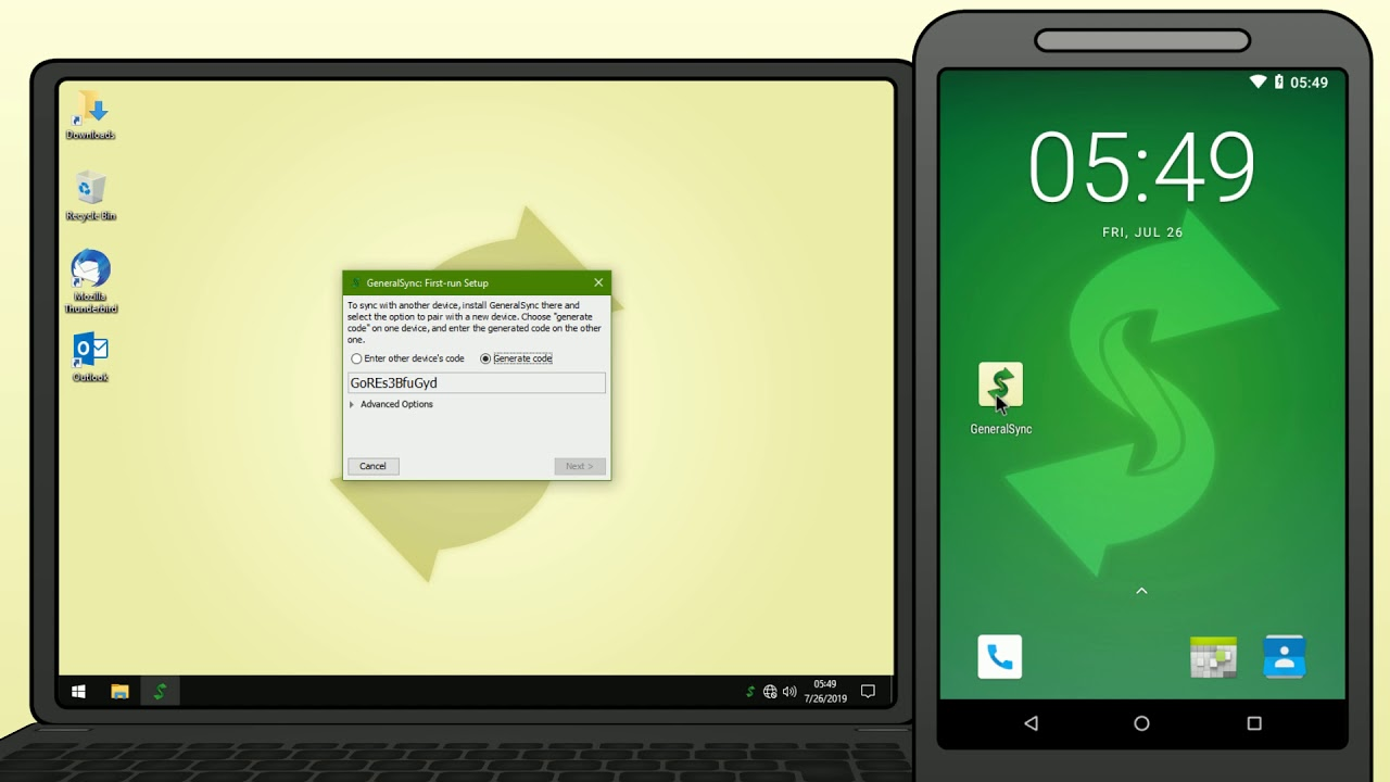 Thunderbird Synchronisieren Android