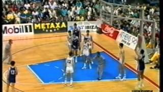EUROBASKET '89 SEMI FINAL: YUGOSLAVIA   ITALY 97 80 (RAI DUE)