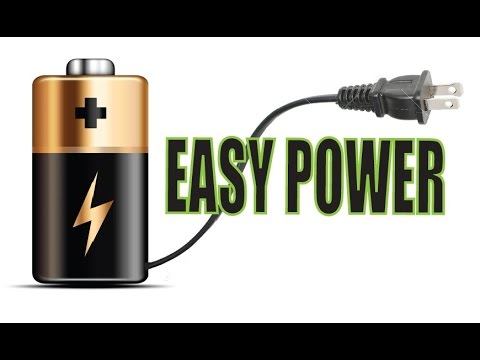Make a Battery Powered device Plug-in compatible