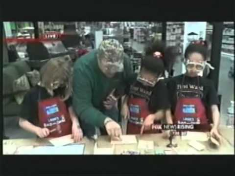 First Ward Creative Arts Academy at Lowe's for Wilson's World Fox News Rising