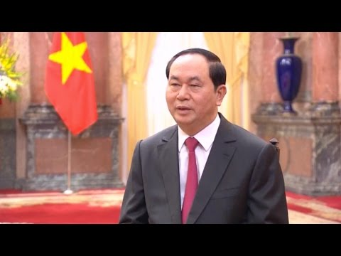 Vietnamese President Tran Dai Quang: Sound ties with China promote peace, stability