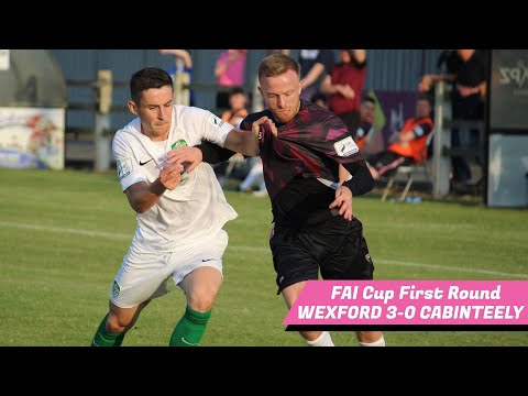 Wexford Cabinteely Goals And Highlights
