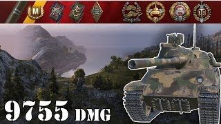 World of Tanks | TVP T 50/51 .. 9755 Dmg