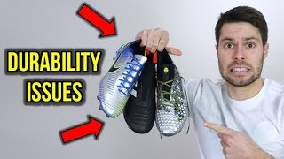 SOCCER CLEATS DURABILITY IS GETTING WORSE?! *RANT*