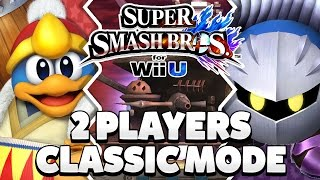 Super Smash Bros. Wii U - King Dedede & Meta Knight Classic Mode [1080p HD]