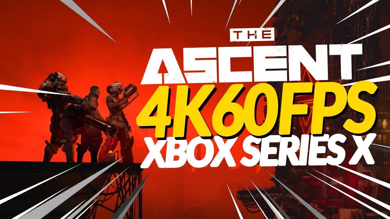 AO VIVO: THE ASCENT - XBOX SERIES X (4K 60FPS)